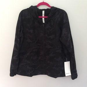 LULULEMON Pack it Up Jacket Camo Multi Gray 12
